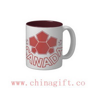 Soccer Canada Two-Tone Coffee Mug images