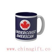 Undercover American Two-Tone Coffee Mug images