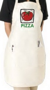 White/ Natural Bistro Apron images