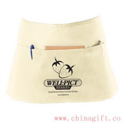 White/ Natural Cafe Apron images