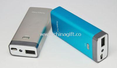 Aluminum alloy power bank 5200mah