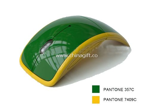 Customized color wireless arc mouse