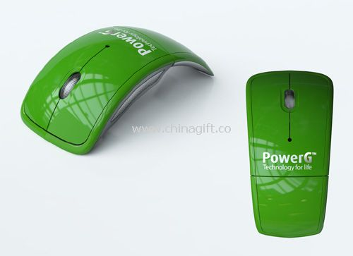 CUSTOMIZED COLOR WIRELESS FOLDING MOUSE