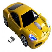 2.4G wireless car shape mouse images