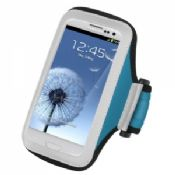 Adjustable neoprene sport armband case with pu frosted for apple iphone 5 workout cover images