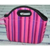 Foldable thermal SBR lunch tote box case images