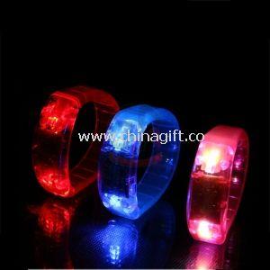 Flashing Sports Silicone Bracelets LED Light Up Bracelet For Party Club