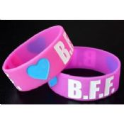 Eco - Friendly Sports Silicone Bracelets images