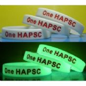 Glow in the Dark luminous Sports Silicone Bracelets images