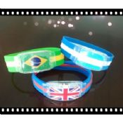 Promotion Gift Country Flag Sports Silicone Bracelets images