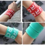 Promotional Personalized Silicone Wristbands Sports Silicon Wrist Bracelets images