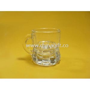 30ml liquor drinking clear shot Glass Cup With Handle