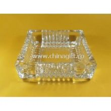 Hotel smoking pressed Clear Glass Ashtray images
