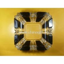 KTV, hotel , restaurant Custom pressed Clear Glass Ashtray images