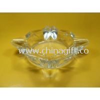 Special Shape Clear Glass Ashtray images