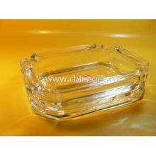 Mini Painting Clear Glass Ashtray images