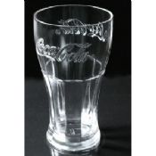 480ml thick Coca-cola drinking glass cup, bar use images