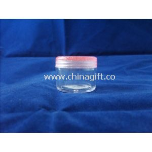 Different Capacity Empty Flat Small PP Plastic Cosmetic Packaging Containers