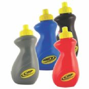 500ML Red High - Density Polyethylene / Polypropylene Water Bottles With Lids images