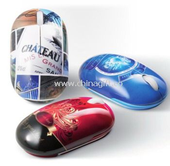 2.4g wireless optical mouse with printing