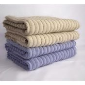 100% Cotton jacquard hotel supply towels for bath images