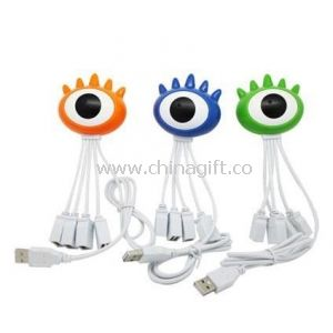 One-eyed shape 4-Port USB HUB