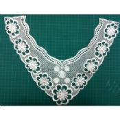 Customized neck lace embroidery collar images