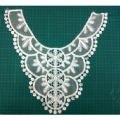 Embroidery mesh cotton collar clothing motif images