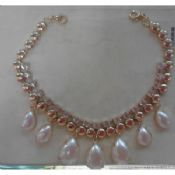 Natural Pearl handmade necklace images