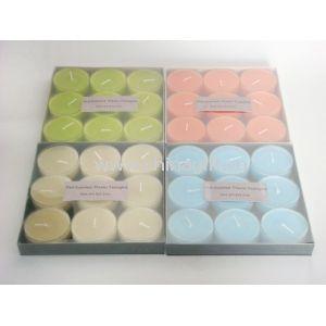 9pcs plastic tealight candle gift set