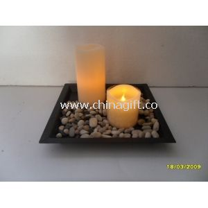 Garden Realistic Flameless Led Candle Set