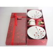 Christmas red berry scented candle images