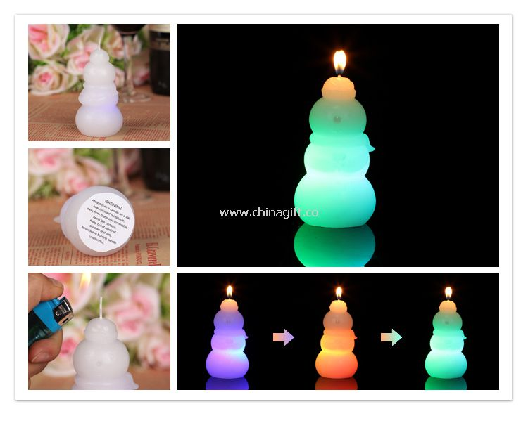 Запах snowwoman Рождественские свечи