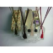 Eco - Friendly Clear Glass Reed Diffuser Set With 150ml Perfume Oil images