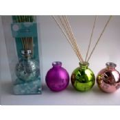 Home Round Glass 100ml Perfume Oil Reed Diffuser Gift Set images