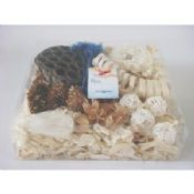 White Perfumed Nature Leaf Homemade Scented Drawer Sachets Potpourri Bags images
