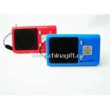 Mini portable speaker with FM radio function images