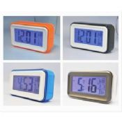 Plastic Square Shape and Larger Screen LCD Electronic Desktop Calendar images