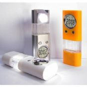 Silk Print Mini LED Flashlights with Clock images