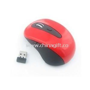 2.4G Wireless Mouse Red