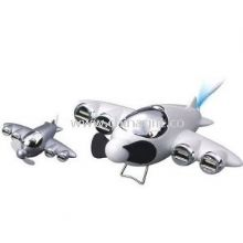 Plane shape 4-Port USB HUB with mini Fan images