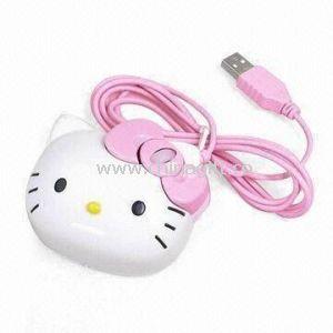 Hello Kitty shape Optical Mouse