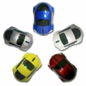 Colorful Car shape Optical Mouse images