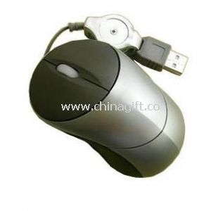 Mini Mouse with retractable cable