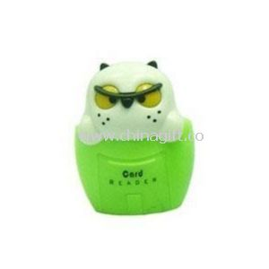 Owl shape Mini USB Card Reader