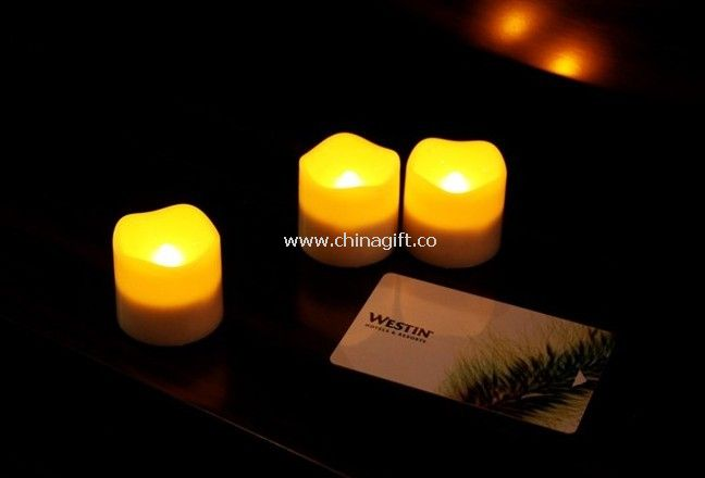 Battery Operated LED Tealight Candle flickering