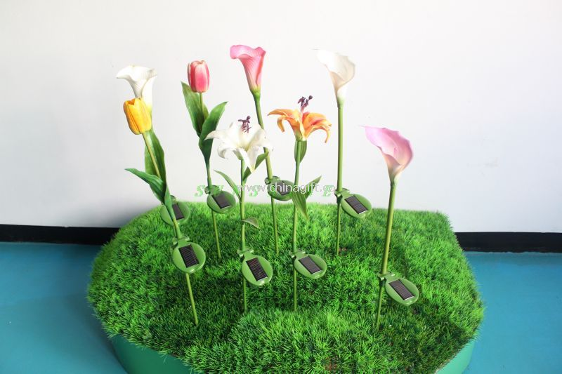 Calla lily solar lights