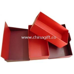 Luxury Red Cardboard Keepsake Gift Boxes