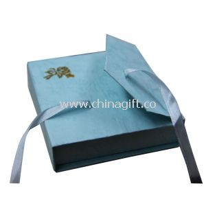 Ring Paper Blue Keepsake Gift Boxes For Jewelry