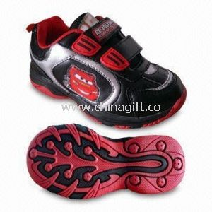 Childrens Sports Shoes with PU and Mesh Upper, Available in Various Colors